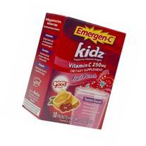 Emergen-C Kidz Vitamin C, 250mg Packets, Fruit Punch, 10 ea