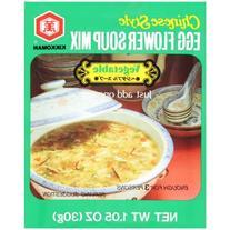Kikkoman Chinese Style Egg Flour Mix Vegetable Soup, 1.05 oz