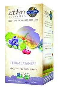 Garden of Life Organic Prenatal Multivitamin Supplement with