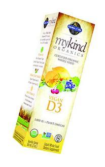 Garden of Life mykind Organic D3 Vitamin - Vegan Whole Food