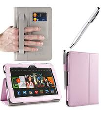 i-BLASON Kindle Fire HDX 7 inch Tablet Leather Case Cover /