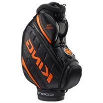 NEW Cobra King LTD 2016 Staff / Cart Bag 6-way 9.5 Top Black / Orange