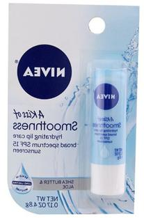 Nivea a Kiss of Smoothness Hydrating Lip Care SPF 15 -- 0.17