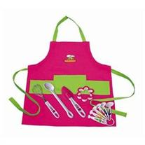 Curious Chef 11-pc. Girl's Chef Kit, Pink
