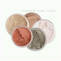 Sweet Face Minerals 5 Pc Kit Mineral Makeup Set Bare Skin