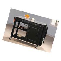Kitchen Cart in Black