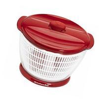 KitchenAid Red 6-quart Salad Spinner