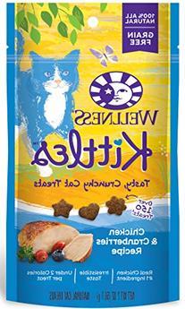 Wellness Kittles Crunchy Natural Grain Free Cat Treats,