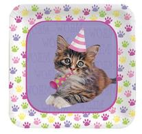 Kitty Cat Cake Plates