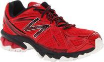 New Balance KJ610 Trail Running Sneaker,Red/Black,3 M US