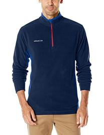 Columbia Men's Klamath Range II Half Zip, Collegiate Navy/