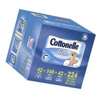 Kleenex Cottonelle Fresh Flushable Moist Wipes - Total: 224