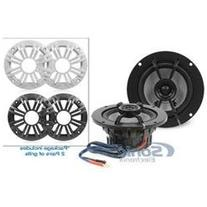 Kicker KM42CW 4 KM Series 150W 2-Ohm Coaxial Marine Speakers