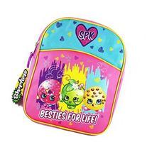 Shopkins KNCM01ZA 11-Inch Half Moon Piping Mini Backpack