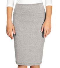Kosher Casual Women's Knee Length Stretch Pencil Skirt In