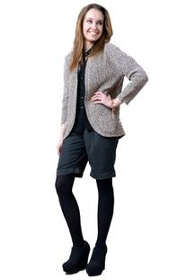 Ladies Knitted Cardigan Jumper with Pockets 430