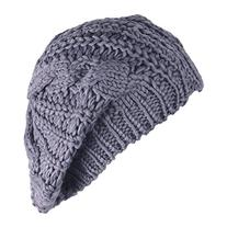 Eforstore Knitted Hats Winter Slouchy Beanie Cable Hat Women