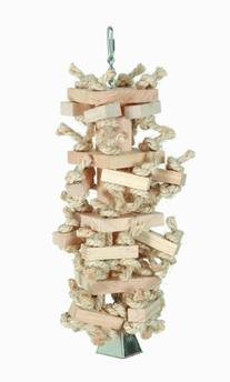 "Paradise Toys Natural Knots n"" Blocks 6-Inch W by 15-Inch L"