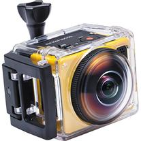 """Kodak PIXPRO SP360 Action Camcorder with 1"""" Status LCD and"""