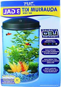 API Aquaview 360 Aquarium Kit with LED Lighting and Internal