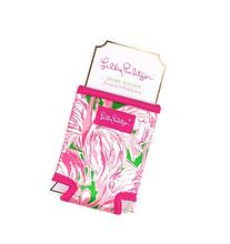 Lilly Pulitzer Koozie Coozie Drink Can Hugger - Pink Colony