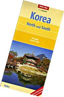Korea North and South 1:1,500,000 Travel Map, 2012 edition