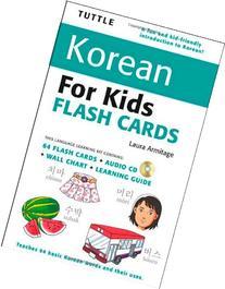 Tuttle Korean for Kids Flash Cards Kit