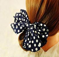 Leegoal 1PC Korean Style Lovely Big Rabbit Ear Bow Headband