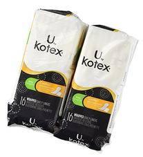 Kotex Natural Balance Absorbent Liners, Long, 16 Count
