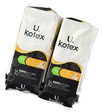 Kotex Natural Balance Absorbent Liners, Long, 16 Count