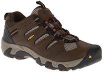 KEEN Men's Koven Wide Hiking Shoe,Cascade/Bossa Nova,12 W US