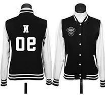 KPOP VIXX Baseball Uniform Coat Hongbin Hyuk Ken Leo N Ravi