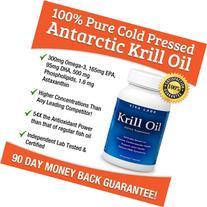 Viva Labs Krill Oil : 100% Pure Cold Pressed Antarctic Krill
