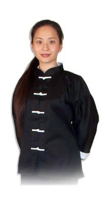 Tiger Claw Kung Fu  Uniform 100% Cotton White Cuff Style