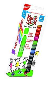 The Pencil Grip Kwik Stix Solid Tempera Paint, Super Quick