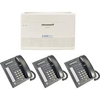 Panasonic KX-TA824 System plus  KX-T7731 Black Telephones