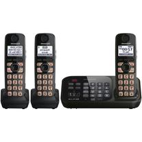 Panasonic KX-TG4743B DECT 6.0 Cordless Phone with Answering