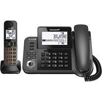 Panasonic KX-TGF382M DECT 2-Handset Landline Telephone