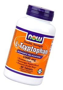NOW Foods - Now Foods L-tryptophan 1000mg, Tablets, 60-Count