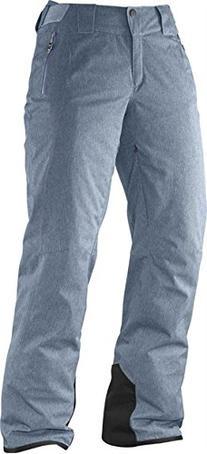 Salomon L36377100 Whitemount GTX Motion FIT Pant W Bleu Gris