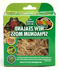 Zoo Med Laboratories-New Zealand Sphagnum Moss 80 Cubic Inch