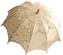 Tinksky® Lace Umbrella Parasol Romantic Wedding Umbrella