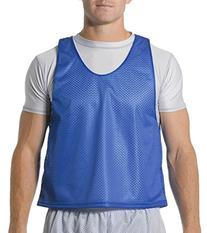 A4 N2274 Lacrosse Reversible Practice Jersey - Royal & White
