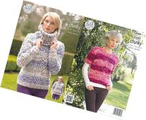 King Cole Ladies Big Value Super Chunky Tints Knitting