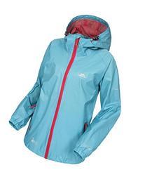 Trespass Ladies Qikpac Jacket Aquatic S