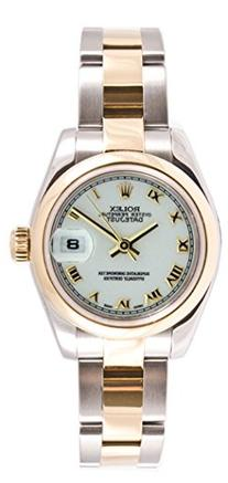 Rolex Ladys New Style Heavy Band Stainless Steel & 18K Gold