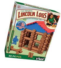 LINCOLN LOGS - Lake Union Lodge - 88 Pieces - Ages 3+ -