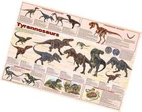 Laminated Tyrannosaurs Educational Dinosaur Science Chart