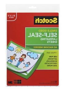 Scotch® Laminating Sheets LS854SS-10, 9 Inches x 12 Inches