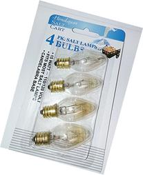 4-pack Himalayan Salt Lamp Bulbs